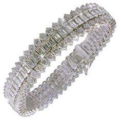 Pre-owned DIAMOND Fancy Tennis Bracelet. (€102.190) ❤ liked on Polyvore featuring jewelry, bracelets, jewelry bracelet, jewels, joias, tennis bracelets, diamond jewelry, preowned jewelry, tennis bracelet and pre owned jewelry