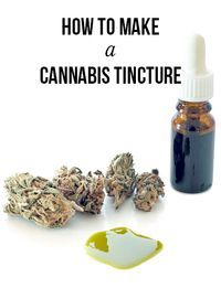 How to make a cannabis tincture | MassRoots.com