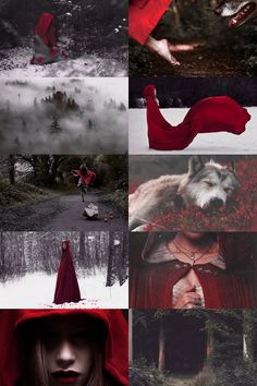 red riding hood aesthetic (more here)