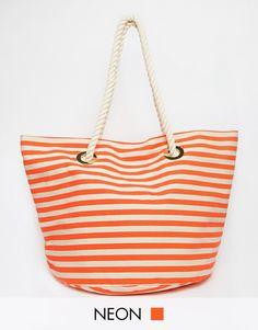 Oasis+Sroupa+Stripe+Shopper