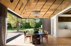 Bates Masi + Architects designed a residence where the interior spaces are highly connected to the outside - CAANdesign | Architecture and home design blog