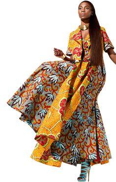 Vlisco fabrics with amazing african prints