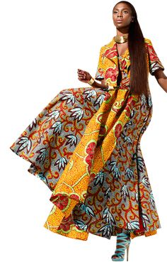 Vlisco fabrics with amazing african prints