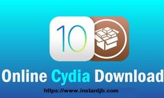 How to download Cydia installer iOS 10.3.3 with iJB  https://www.instantjb.com