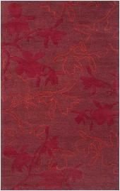 Surya Rugs Organic Modern OMR-1003 Red