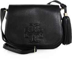Thea Leather Fringe Crossbody Bag - Lyst