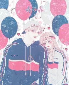 Anime K, Anime Couples Manga, Kawaii Anime, Anime Angel Girl, Anime Art Girl, Manga Art, Cute Couple Art, Anime Love Couple, Cute Anime Coupes