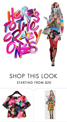 """""""Here's to the Crazy Ones!"""" by danniellebuckley ❤ liked on Polyvore featuring Gucci and gucci"""