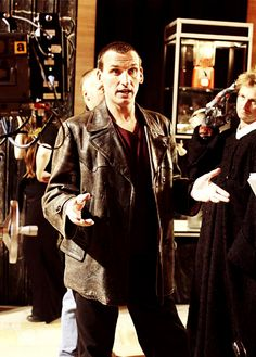 Nine  |  Christopher Eccleston  |  Doctor Who  |  behind the scenes