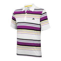 adidas Männer adiZero Poloshirt mit prominenten Streifen - http://www.kleidung-24.de/adidas-maenner-adizero-poloshirt-mit-prominenten-streifen   #Adidas, #Shirts