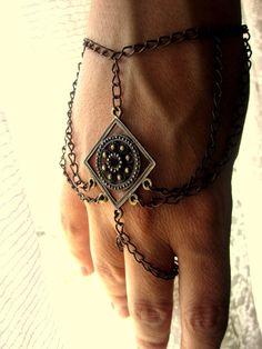 Slave Bracelet Bohemian Jewelry by BohemianHooksJewelry on Etsy, $14.50