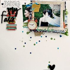 Scrapbook Ideas for Top Heavy Compositions | Sian Fair | Get It Scrapped