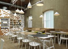 Cornerstone Café / Paul Crofts Studio | Design d'espace