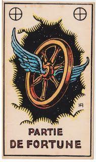 Cartas do Destino: Destino e Tarô: Tarot Astrologique - A Carta Roda ...