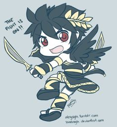 Chibi Dark Pit - Visit now for 3D Dragon Ball Z shirts now on sale!