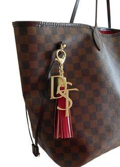 DST Handbag Charm & Tassel Keychain SET