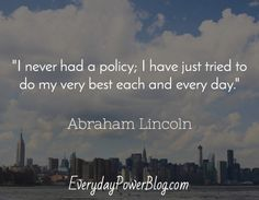famous Abraham Lincoln Quotes on success