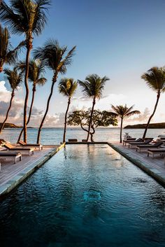Poolside paradise at Le Sereno | The Best St. Barts Stays