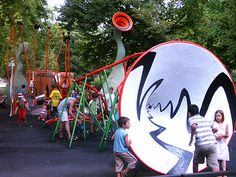 Musical playground in Montpellier, France #urban #playspace #art