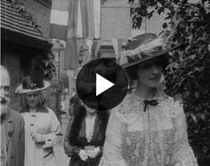 Consuelo, Duchess of Marlborough opens a babies home (c. 1914) - British Pathé