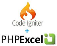 Exporting your MySQL table data with PHPExcel + CodeIgniter