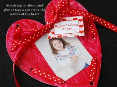 Cute craft idea for grandparent gifts~ by jeri