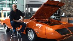 In this video at Fields Chrysler Jeep Dodge Ram at The Glen, in Glenview, Tom Lembeck talks about his 1970 Plymouth Hemi Superbird, one from a collection of his many rare Mopar vehicles, that he has graciously allowed us to display in our showroom.   For more information, call our Internet Department at (847) 446-5100, or visit us on the web at http://www.fieldschryslerjeepdodge.com/.