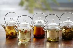 Individual & personalized glass tea pots
