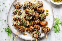 Grilled Mushroom Skewers Recipe – How to Grill Mushrooms — Eatwell101