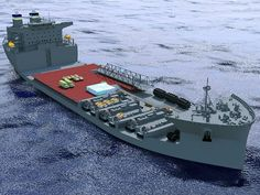 The US Navy's Mobile Landing Platform Ships (MLP)