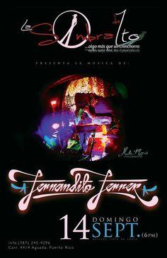 Fernandito Ferrer @ La Sombra de Ito, Aguada #sondeaquipr #fernanditoferrer #lasombradeito #aguada