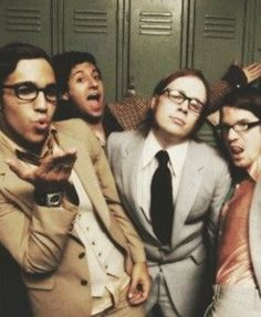 Even as nerds these guys still look good