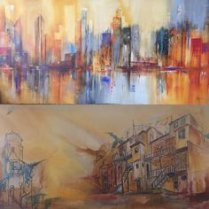 Painting, Vases, Horses, Abstract, Art, Pintura, Painting Art, Paintings, Drawings