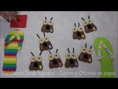 JOGO: PEGA BARATA - YouTube Education, Christmas Ornaments, Holiday Decor, Youtube, Killing Roaches, Game Workshop, Learn Math, Xmas Ornaments, Christmas Jewelry