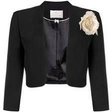 Designer Clothes, Shoes & Bags for Women Fashion Wear, Fashion Pants, Look Fashion, Preppy Girl Outfits, Blazers, Bolero Jacket, Tailored Jacket, Blazer Outfits, Work Clothes