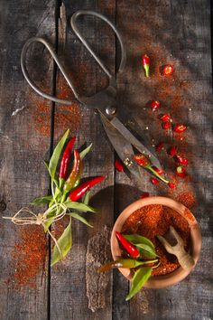 Chilis and Chili Powder by Marco Guidi on 500px