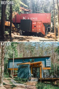 Cabin Design, Tiny House Design, Shipping Container Home Designs, Shipping Containers, Tiny Container House, Container Homes Australia, Architecture Design, Sustainable Architecture, Usa Living