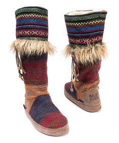 Loving this Red Maribelle Slipper Boot - Women on #zulily! #zulilyfinds