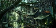 louisiana swamp illustration - Google Search
