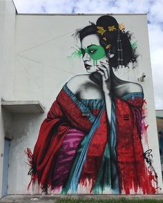 When is graffiti art, and when is it vandalism? Check out this epic gallery of street art from around the world and then leave your thoughts in our comment section… Murals Street Art, 3d Street Art, Urban Street Art, Amazing Street Art, Street Art Graffiti, Mural Art, Street Artists, Wall Mural, Miami Street Art
