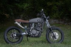 The Honda XR600R is hardly the sort of bike you could classify as refined. A big plastic drenched thumper, it's design aims for function over form. That's not to say that can't be changed though, w…