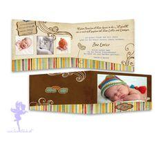 Babykarte+Geburtskarte+Zino+von+Feenstaub+auf+DaWanda.com