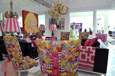 real life Barbie dream house in Malibu designed by Jonathan Adler...Lulu would pee herself