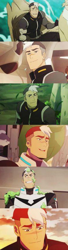 Shiro I LOVE THIS CHARACTER PLEASE WRITERS DON'T KILL HIM OFF IN SEASON 2 >>> survived season 2, now let's pray he survives season 3
