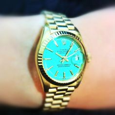 Vintage mint Rolex. One day.....