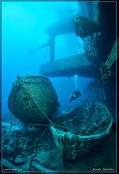 Diving Wreck in Salem Express in Red Sea..... (Credits Anatoly Beloshchin)