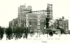 Regina College, Women's residence is under construction, ca. 1914. (Photo: 80-2-5)