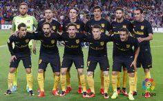 Once titular frente al Barça
