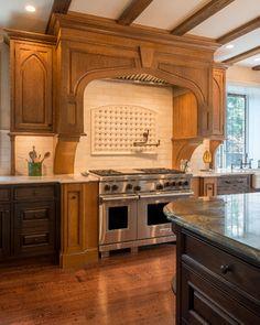 kitchen stove surround ideas | 9,734 Hot Water Spout Home Design Photos
