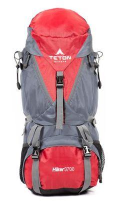 "TETON Sports Hiker3700 Ultralight Internal Frame Backpack (30.5""x 12.5""x 12.5"", Red) Teton Sports http://smile.amazon.com/dp/B006JYHHL6/ref=cm_sw_r_pi_dp_2LpXvb0F7XZ4G"